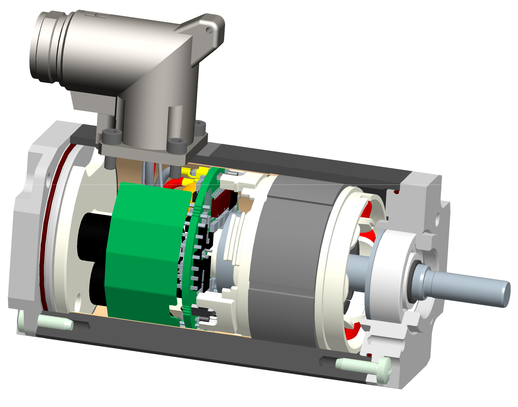 Intelligent Servo Motor Size Significantly Reduced