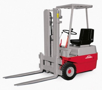 Linde E-forklift truck from 1971