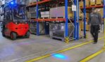 Linde BlueSpot – A shining example in safety matters