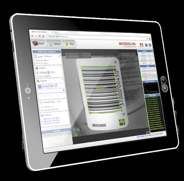 Microscan S New Weblink Interface Offers Intuitive Web