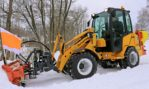 Schäffer showcased the cabin versions of its compact wheeled loaders at the demopark 2017