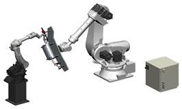 Handling robots:panasonic