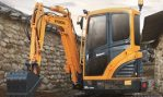 New HYUNDAI R30-9AK Compact Excavator