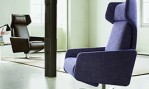 Intertime displays new styles of seating furniture at the IMM COLOGNE
