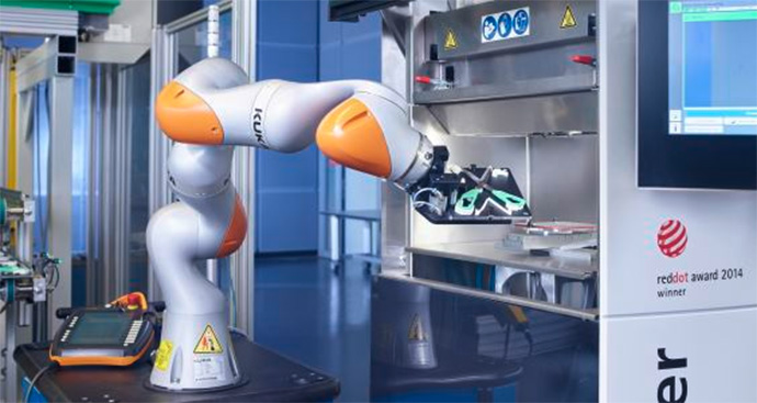 flexible manufacturing kuka lbr iiwa