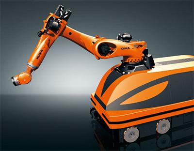 Kuka Mobile Robot Concept Vehicle Moiros Wins Robotics