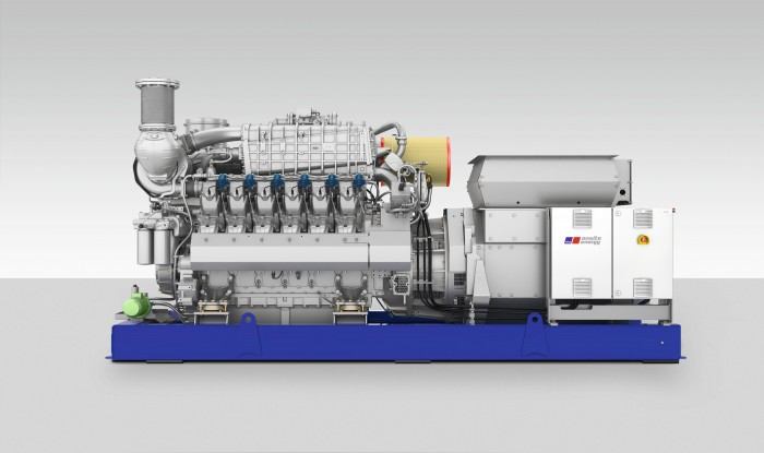 Series 4000 natural gas engine
