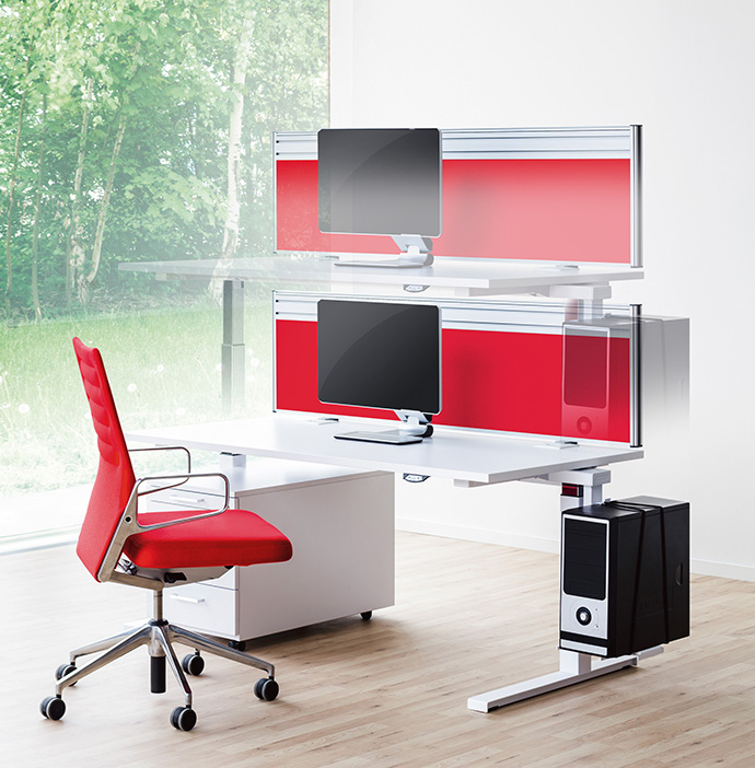 Work desk range ECO N2 by REISS Büromöbel - EXPO21XX.com NEWS