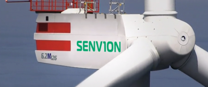 senvion wind turbine