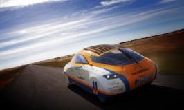 Solar-powered car SolarWorld GT
