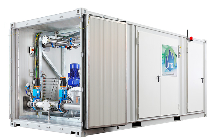 ProCon containerised solution for Biogas PlantsPhoto by UTS Biogas Ltd