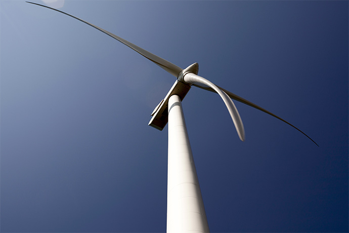vestas low wind turbine