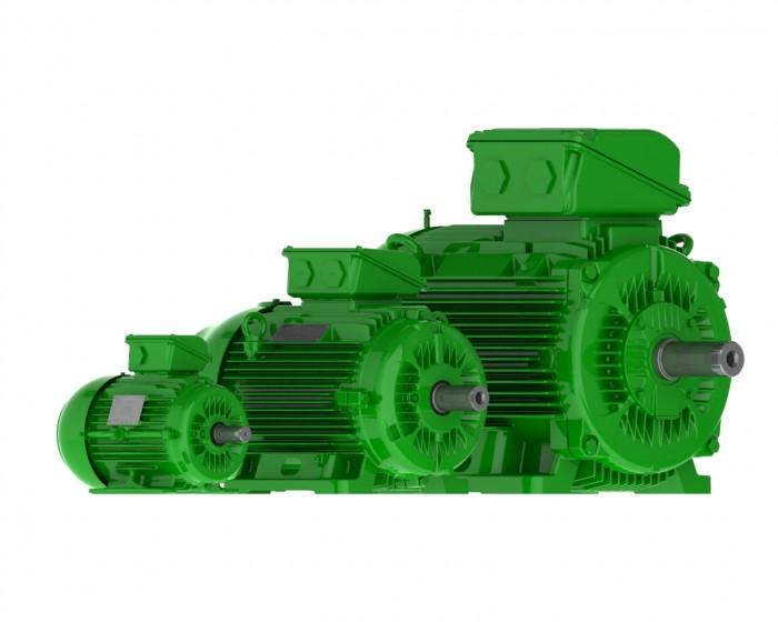 weg efficiency motor range