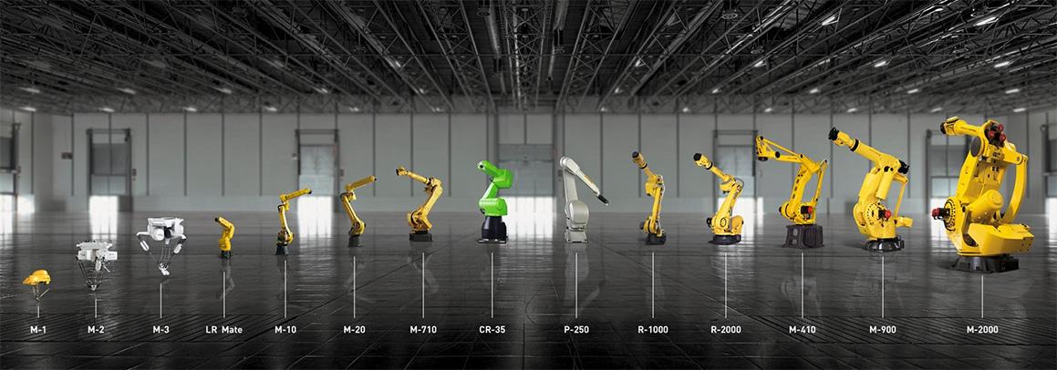 Fanuc Collaborative Robot Heavy Duty Robot