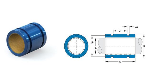 v guide rail for linear roller bearings