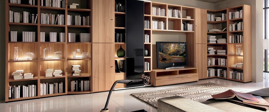 Living room bedroom dining room home office and for Hulsta mobel