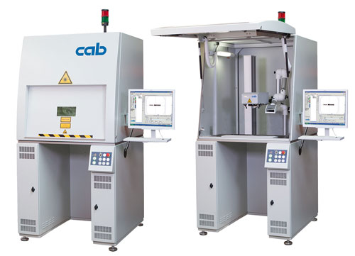 Label printers and marking lasers for industry products and