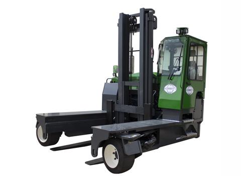 Four Way Side Loader Forklift Mitsubishi Rbm2025k Series: IC Engine Powered All-wheel-drive Multidirectional