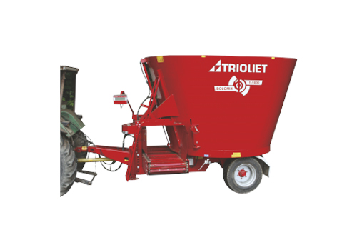 Machines and systems for feeding at farms, self loading
