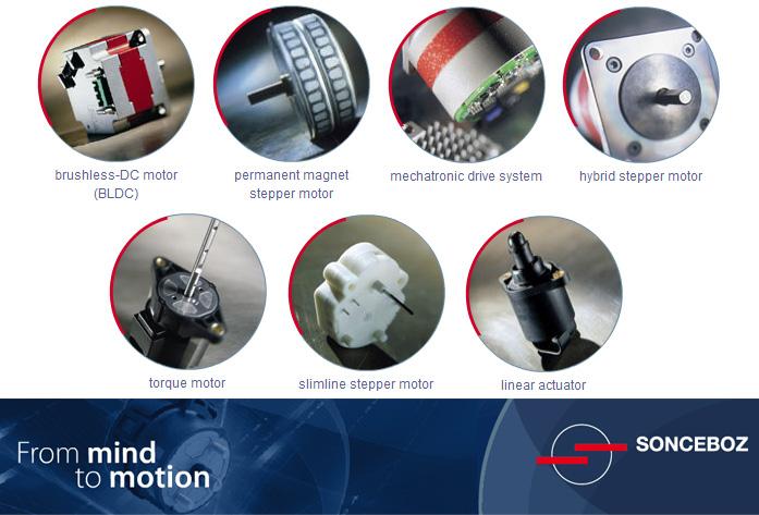 Electric motors, hybrid motors, drive systems, custom motion