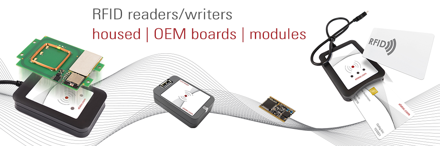 RFID Reader/Writers, BLE, NFC embedded, integrated proximity