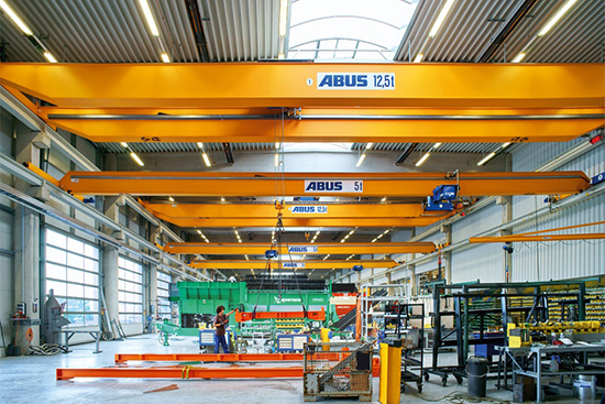 overhead travelling cranes, single girder crane, jib cranes by abus Sub Panel Breaker Box Wiring Diagram  220 Breaker Box Wiring Diagram double girder overhead travelling crane