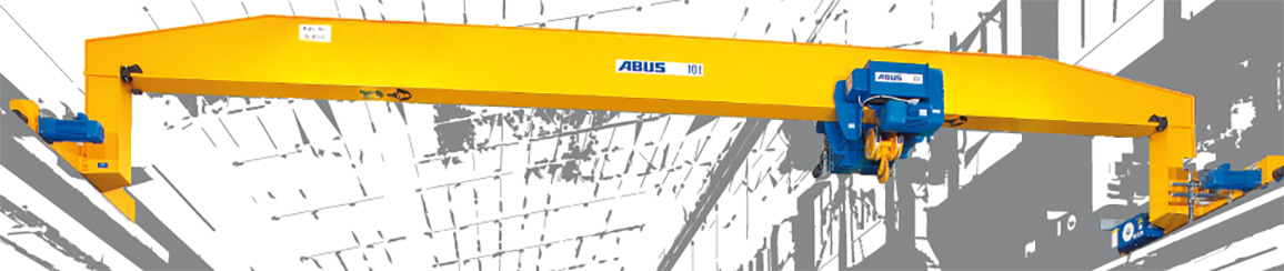 overhead travelling cranes single girder crane jib cranes by abus overhead travelling cranes