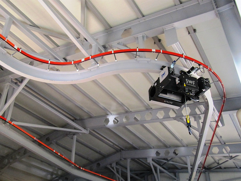 Electric wire rope hoists and winches by SWF Krantechnik