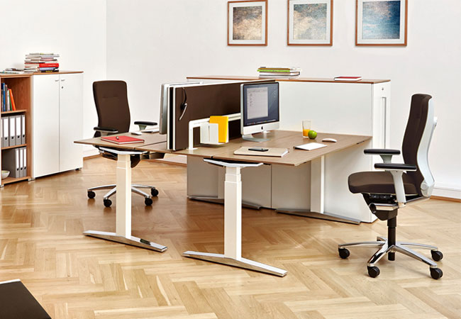 high performance design workspaces office by k nig. Black Bedroom Furniture Sets. Home Design Ideas