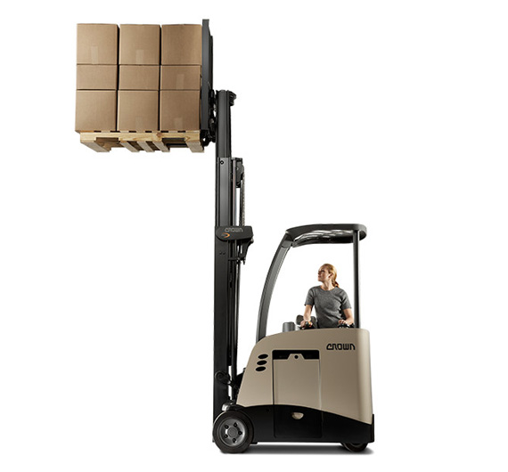 Electric forklift trucks, hand pallet trucks, very narrow