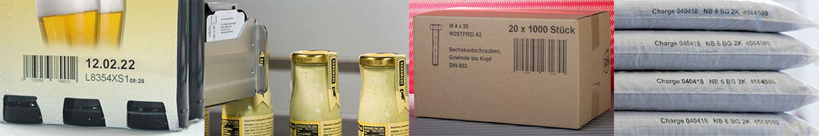 Etikettiermaschinen und Etikettenspender - Bluhm Systems