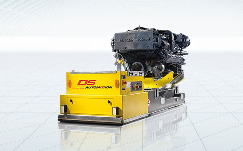 Agv Flexible Automated Guided Vehicle For Assembly And