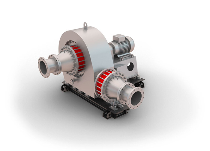 Flue Gas Blower : Radial compressors blowers hermetically
