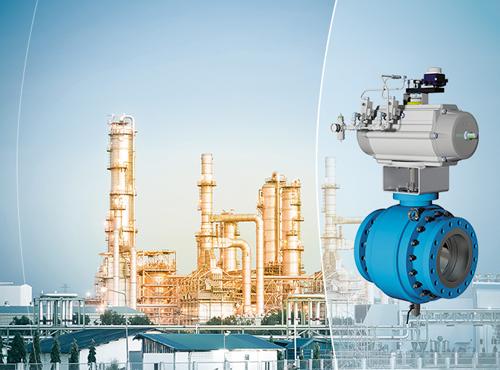 Ball valve, Scraper valve and Wellhead for Petrochemistry