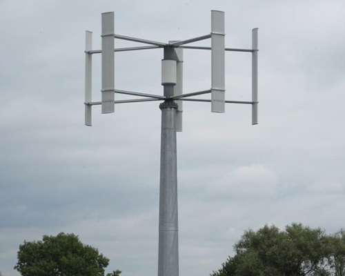 Small Wind Turbines Of 2 10 And 50 Kw For Farms Rural