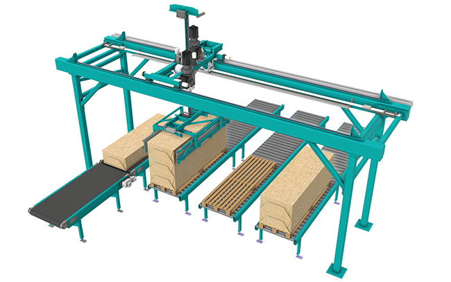 Smart robot gantry with high payload by ROBOT GANTRY