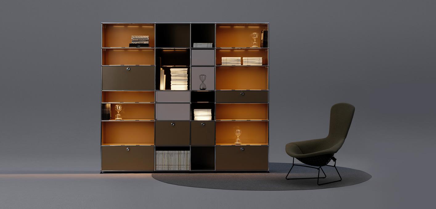 modular furniture from usm. Black Bedroom Furniture Sets. Home Design Ideas