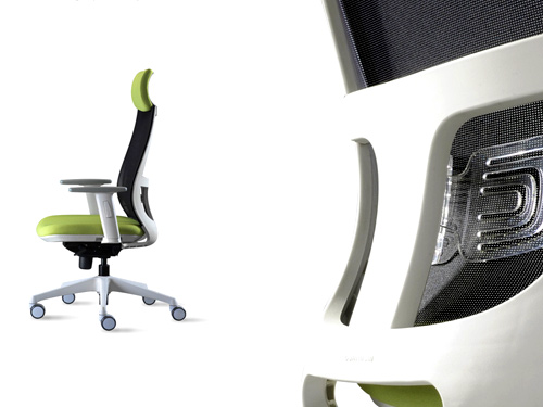 swivel chair curve
