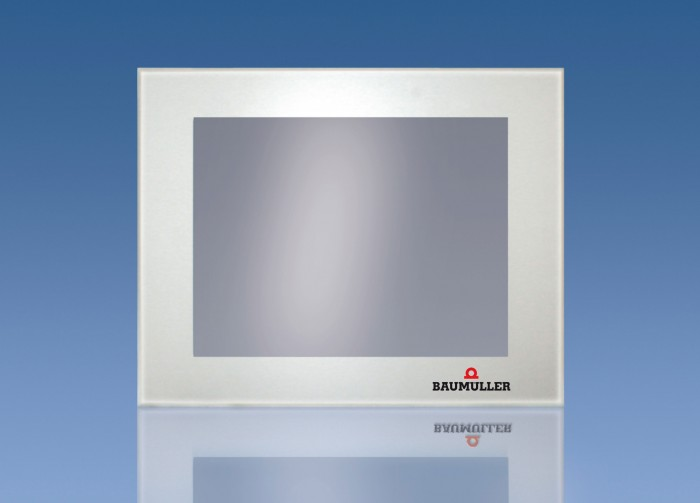 The new series of the more user-friendly b maXX-HMI with touch panel is available in both the standard and performance product lines, each in five different sizesPhoto by Baumüller Nürnberg GmbH