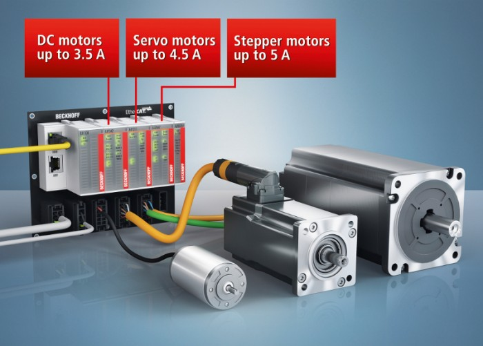 The new EtherCAT plug-in modules for motion applications expand the application spectrum of Beckhoff EJ series I/O in the mass production of machinery.Photo by Beckhoff Automation GmbH