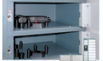 Safe storage of weapons, ammunition by deister electronic
