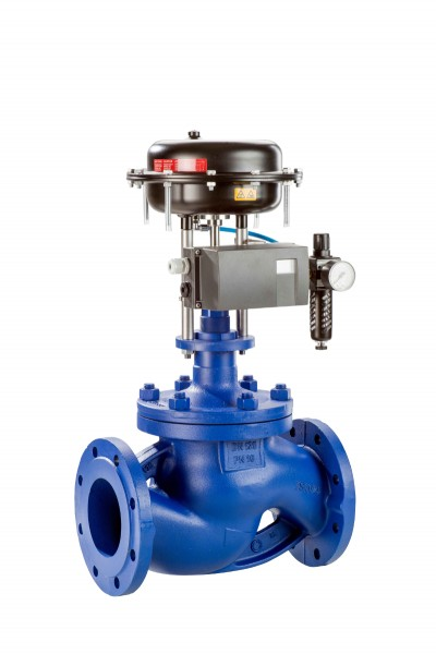 The new BOA-CVE/CVP H is a cast steel control valve primarily used in industryPhoto by KSB Aktiengesellschaft