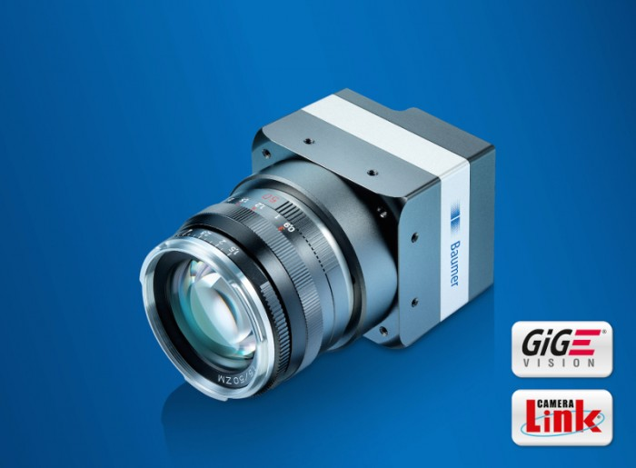 New 25 megapixel CMOS cameras of the LX series enable high-precision inspection at high throughput.Photo by Baumer Group International Sales