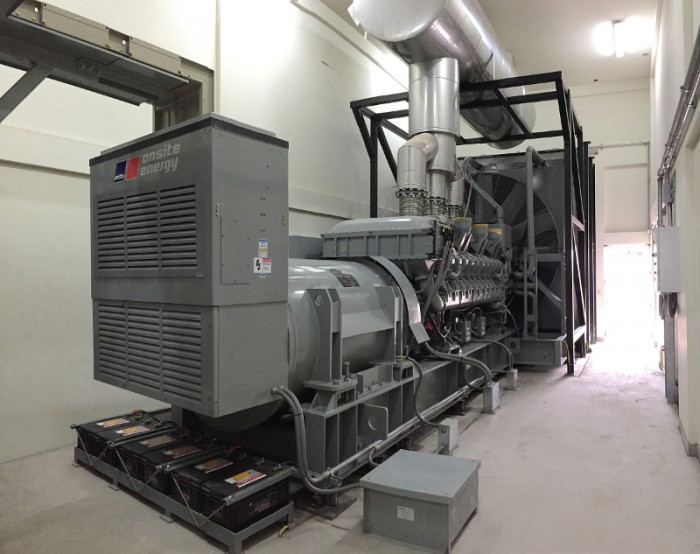 Generator sets from MTU Onsite Energy to be installed for