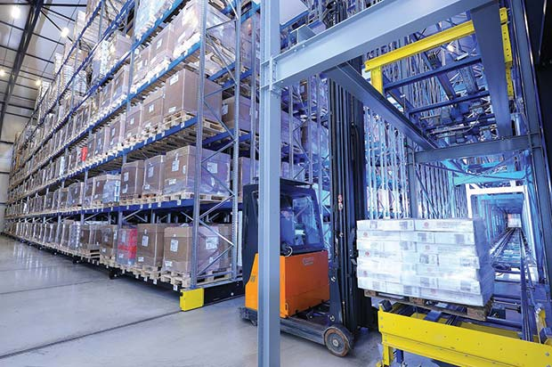 Mobile Racking Smart Solution For Freezer Warehousing By