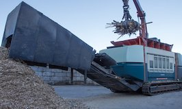 XR3000C mobil-e is in operation at Korn Recycling