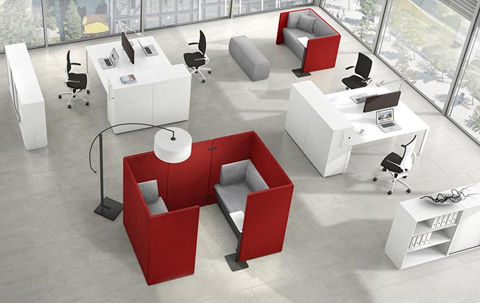 Syneo lounge furniture Well-designed concept for communication zones ASSMANN BÜROMÖBEL GMBH & CO. KG