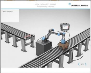 The new Universal Robots Academy - online training courses