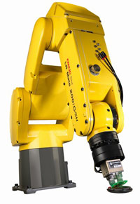 FANUC Robotics has introduced its new LR Mate 200iC/5H robot
