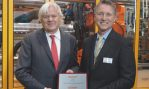 Beckhoff receives EMEA Supplier Award from Husky Injection Molding Systems